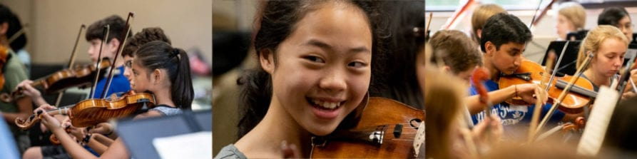 Summer Chamber Music Camp – Sample Schedule