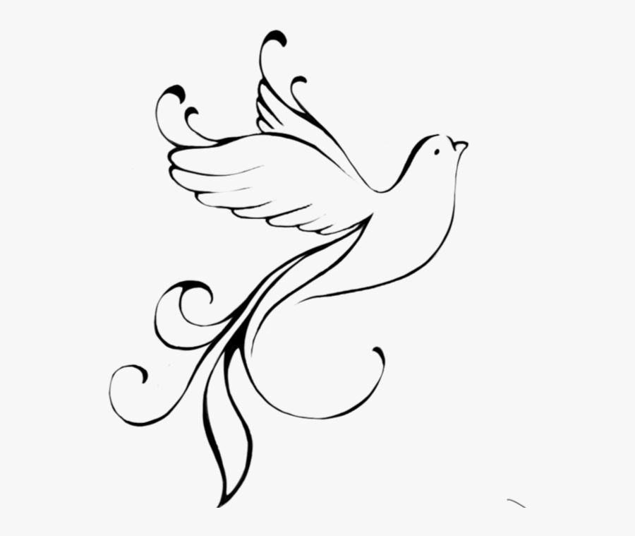 122-1226541_drawn-turtle-dove-flying-dove-outline-transparent-background