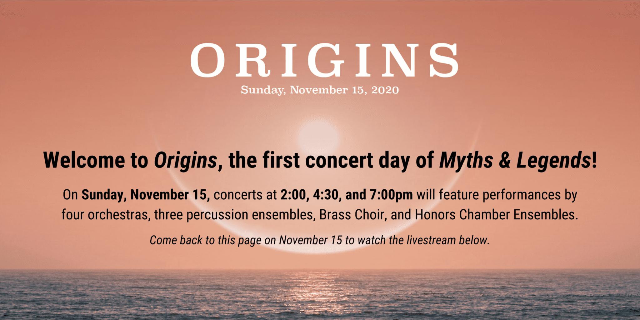 Origins Concert Page Banner 1